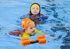 Раннее плавание детей в Санкт-Петербурге