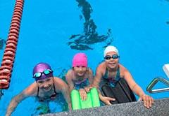 Занятия плаванием для детей