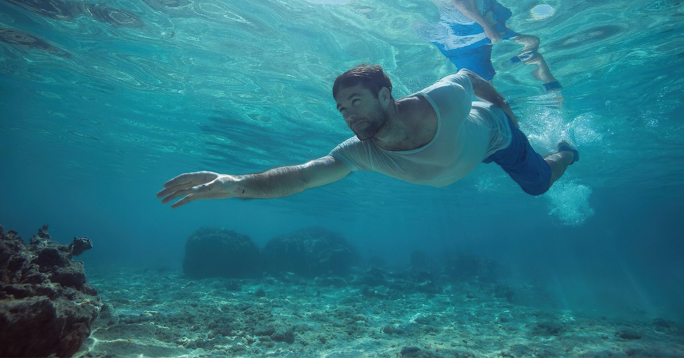 Тренироваться лучше в прохладной воде